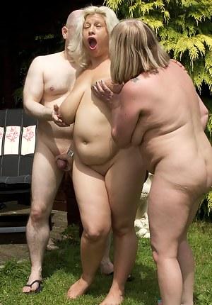 Big Ass FFM Porn Pictures
