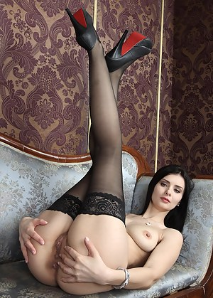 Big Ass Stockings Porn Pictures